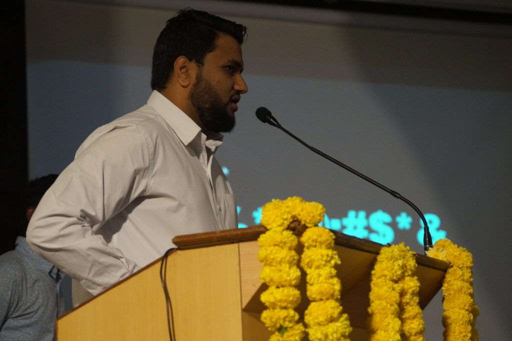 Jawwad Patel at Birla Science Center on National Science Day 2018
