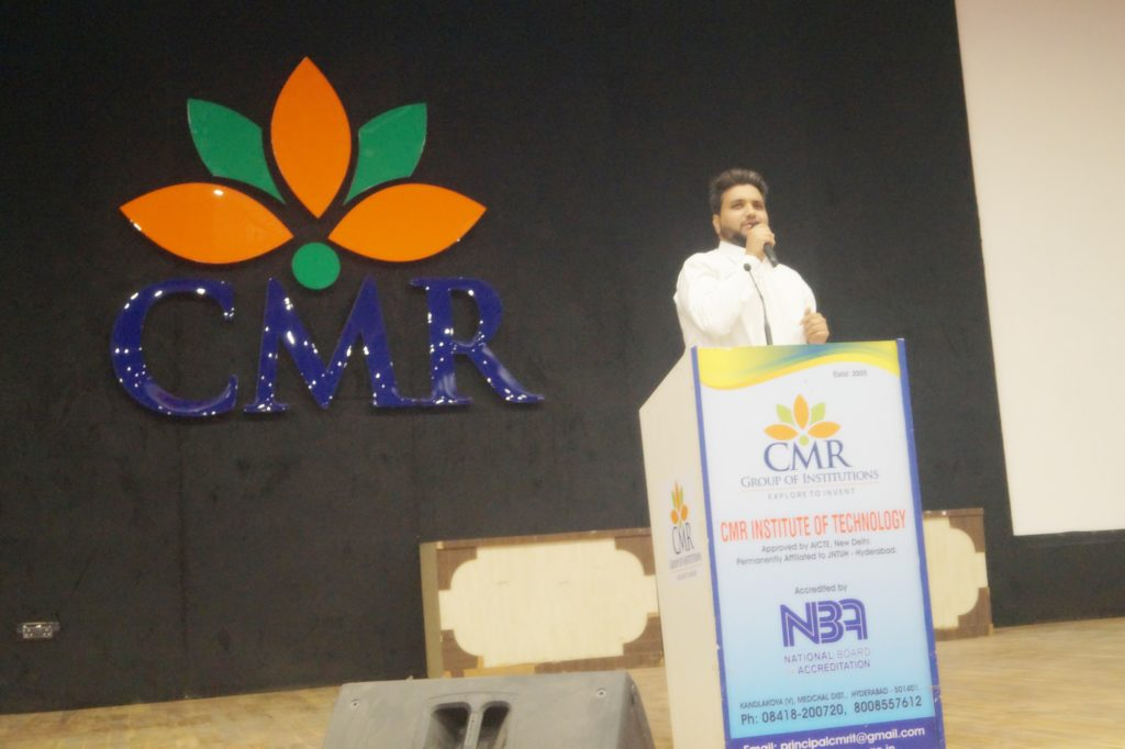 Jawwad Patel at CMR Institute