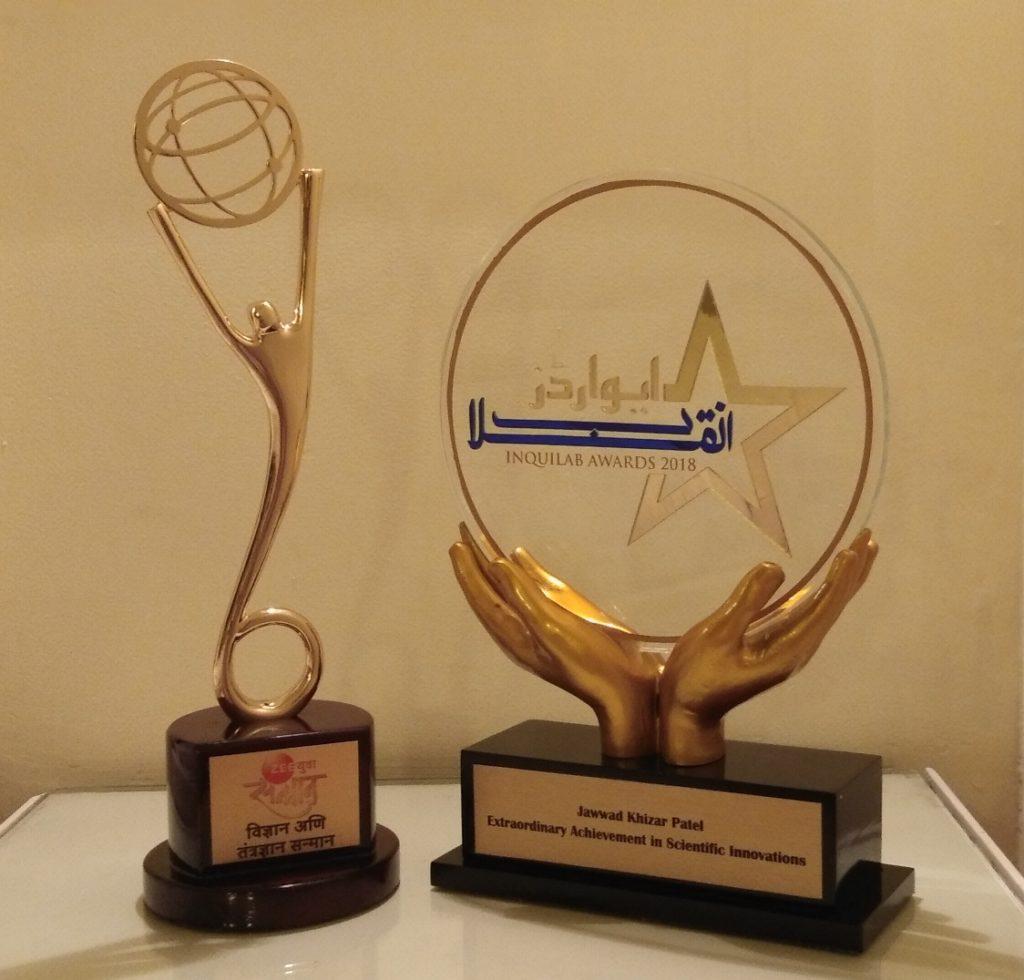 Jawwad Patel Awards