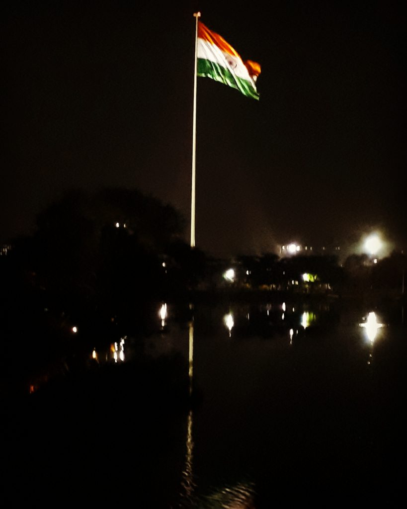 Jawwad Patel Indian Flag