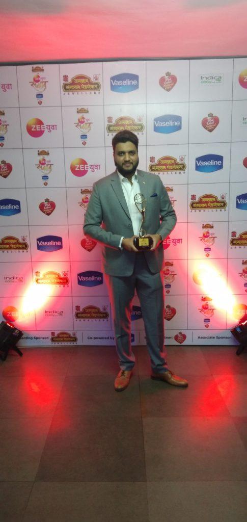 Zee Yuva Sanman 2018 - Jawwad Patel