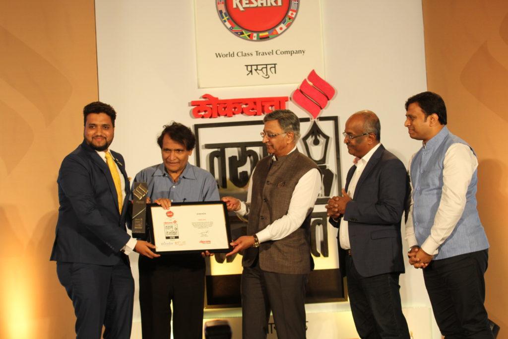 Jawwad Patel Tarun Tejankit Awardee