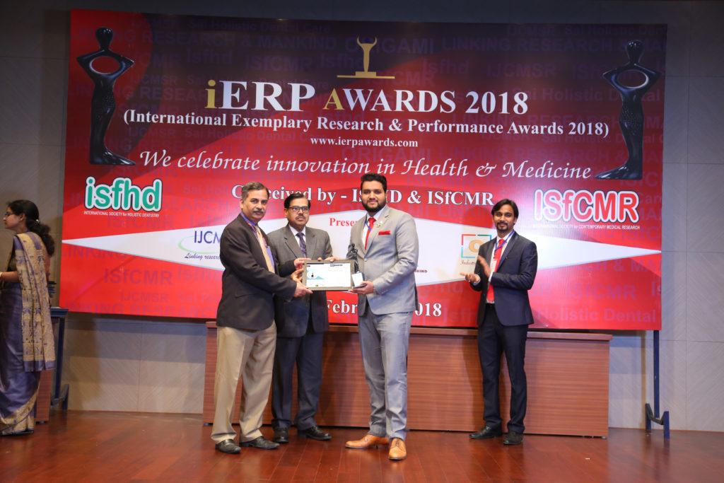 Jawwad Patel at iERP Award Ceremony